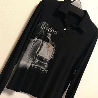 新品 長袖 ライトストーン ライトストーン デザイン シャツ