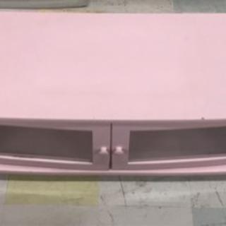 お嬢様風 可愛いテレビ台/ローボード