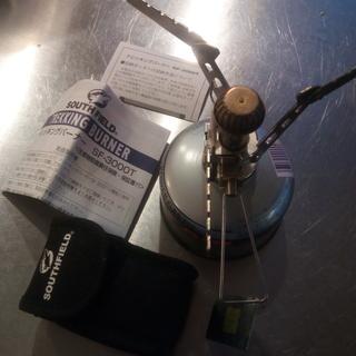 SOUTHFIELDガスバーナー、炭火起こし器