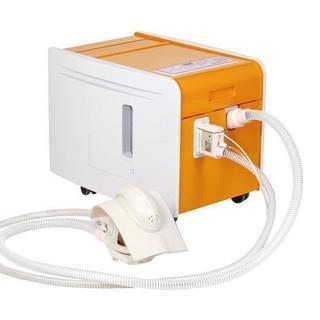 介護ロボット、紙オムツ不要の自動排泄処理装置。