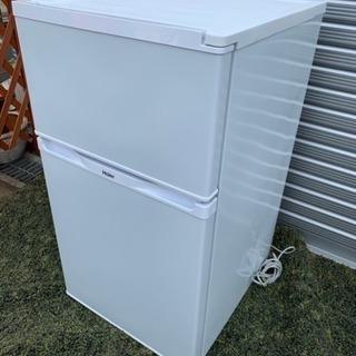 2014年製ハイアール2ドア冷蔵庫91L