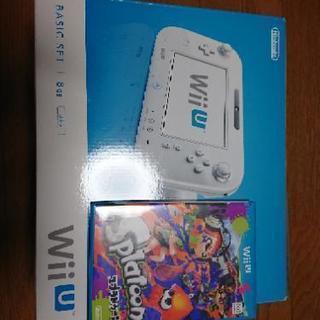 WiiU Basic Set 8GB・splatoonソフト