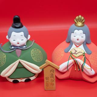 『値下げしました』【3月3日は雛祭り】お買い得!ひな人形4点セット