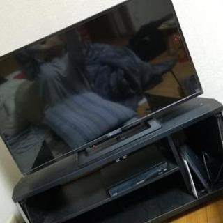 テレビ32型&テレビ台セット