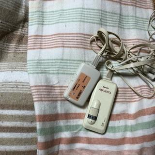 電気毛布 掛け用と敷き用の2点