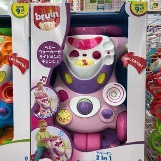トイザらス ブルーイン 2in1 ライドアンドウォーカー ピンク 美品