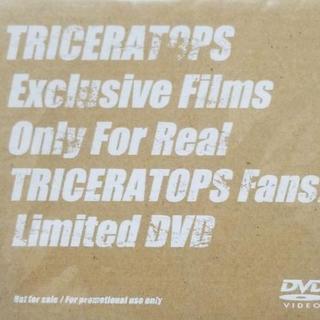TRICERATOPS→DVD