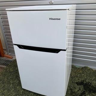 ◉2017年製ハイセンス2ドア冷蔵庫93L