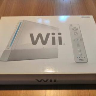 【受け渡し調整中】Wii本体  箱付き・ソフト・D端子付き
