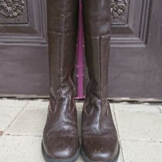 茶系ブーツ サイズ38
