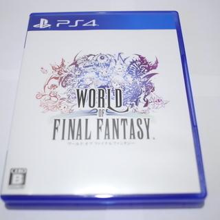 PS4◆送料無料◆ワールドオブファイナルファンタジーWORLD ...