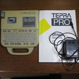 TEPRA PRO SR404