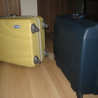 大型スーツケース2点*samsonite、american to...