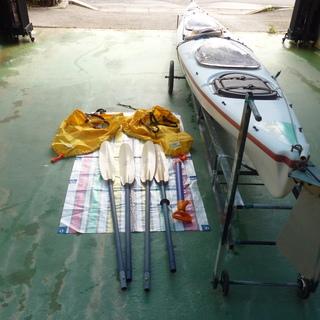 シ-カヤック Sea Scape point5 2人乗り