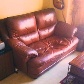 S'ACCOMODI Leather Sofa    サコモディ ...
