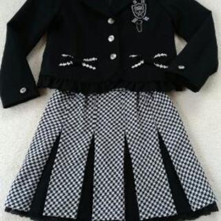 130cm女児スーツ