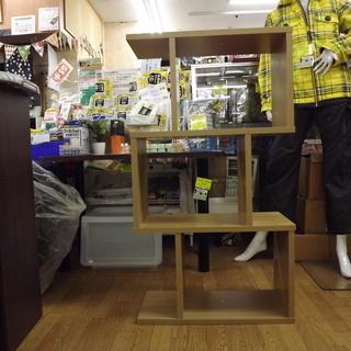 シェルフラック 棚 木製 幅:59cm 札幌 西岡店