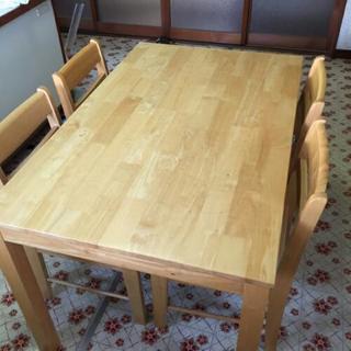 ダイニングテーブル 椅子4脚セット 食卓机