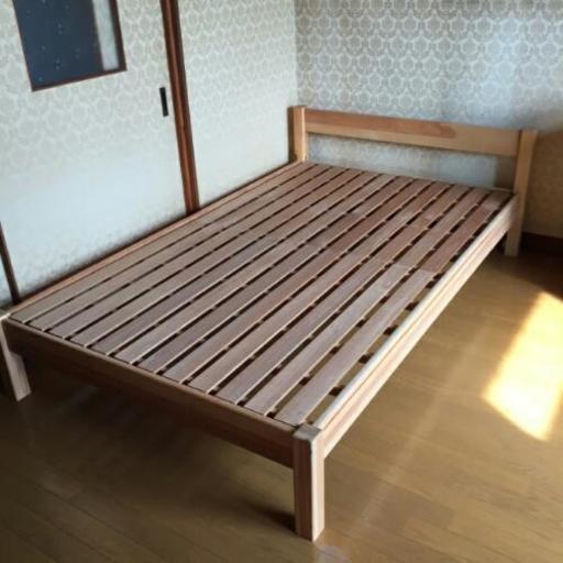無印 すのこ ベッド