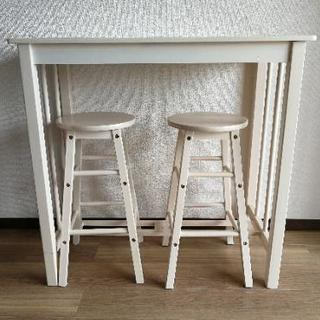カウンターテーブル&椅子
