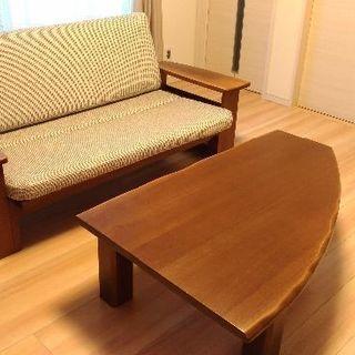 飛騨の家具メーカーイバタインテリア テーブル&ソファセット