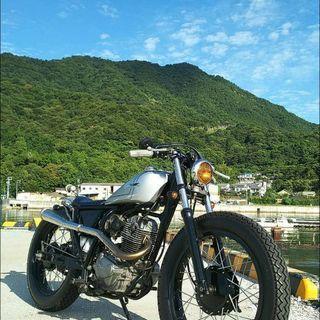 CB223Sカスタムバイク
