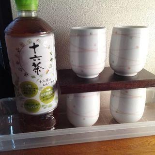 和風モダンな湯のみ 4個組【ムベのキッチン】