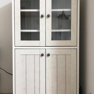 ニトリ食器棚(美品、使用歴2年) 2019年3月30日まで