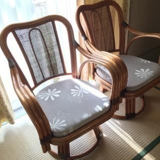 【引っ越し準備中】籐の椅子
