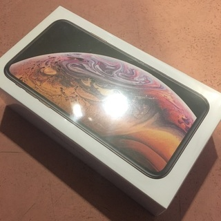 iPhoneXSGOLDSIMロックフリー新品