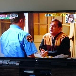 シャープAQUOS Quattron 70インチ テレビ