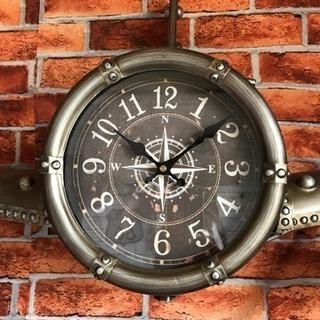 アンティーク調 置き&掛け時計☆飛行機  レア品‼︎値下げしました。