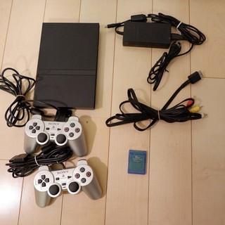 PS2プレステ2とソフト5本のセット