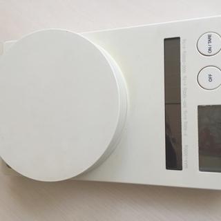 無印 キッチンスケール 計量器