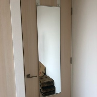 【引越】IKEAドア掛けミラー