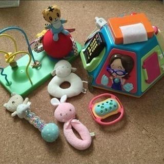 ベビー用おもちゃまとめてお譲りします!!