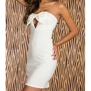 値下げ中【新品未使用】フロントリボンのミニドレス
