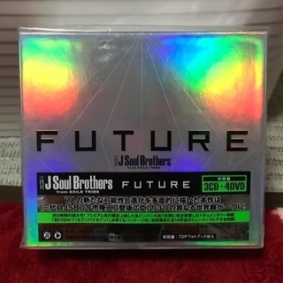 FUTURE 3CD+4DVD(欠品あり)