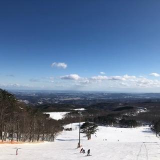 スキー!スノボー!行きましょう〜〜