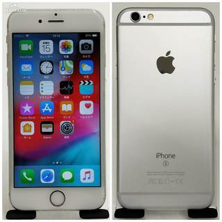 SIMフリー iPhone 6s 64GB Silver 美品 ...