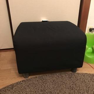 【美品】IKEA 一人掛けソファ オールブラック