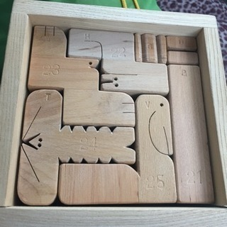 木製 立体 積み木