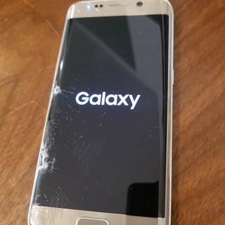 【割れあり】Galaxy S6 edge docomo SC-0...