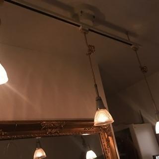 調光ライト シーリング➕ペンダントライト3つ