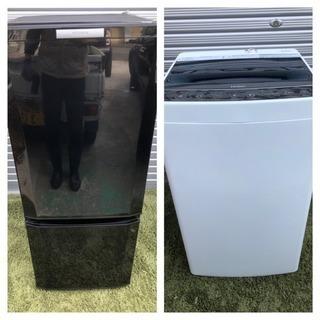 梅【送料設置無料!】☆★家電2点セット冷蔵庫洗濯機がなんと130...