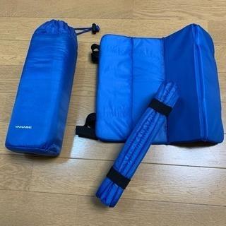 新品未使用‼️携帯タイプの座布団 スポーツ観戦用 クッション ヤナセ
