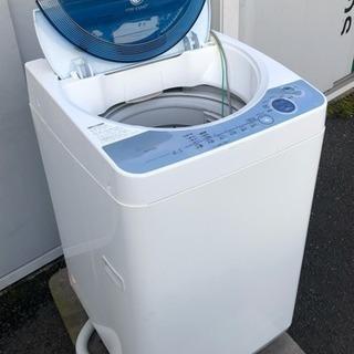 美品 SHARP 2007年全自動洗濯機ES-FG45F-A4.5kg