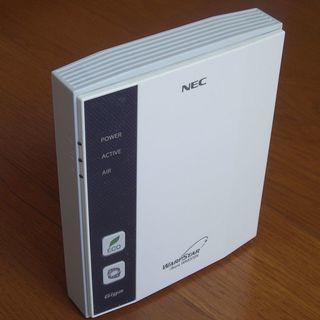 無線LAN親機(NEC Aterm WR8370N-ST)