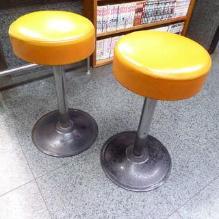 カウンター用の椅子 5客