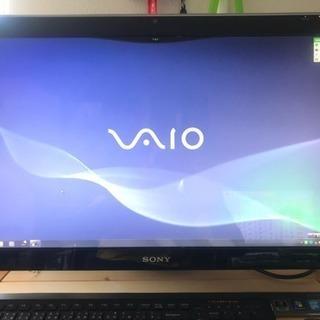 VAIO 一体型 Windows7 TVチューナー有